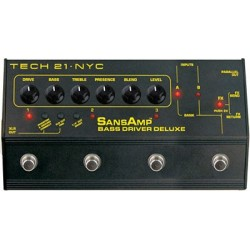 TECH 21. NYC Bass Driver Deluxe
