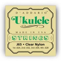 D'Addario J65 ukulele strenge soprano