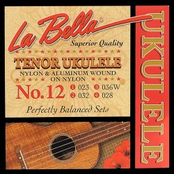 La Bella L-12 ukulele strenge tenor