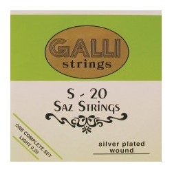 Gallistrings Saz strenge, Light