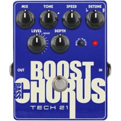 TECH 21. NYC Bass Boost Chorus