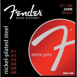 Fender 250M Medium guitar strenge