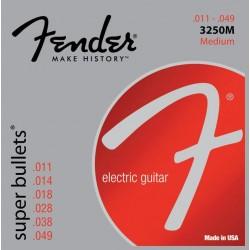 Fender 3250M Super Bullets Medium guitar strenge