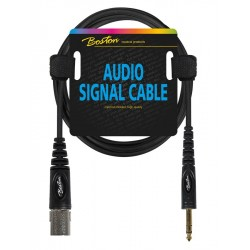 Boston Audio Kabel stereo jack/XLR han 6 m.