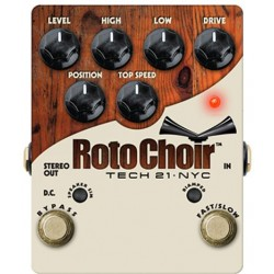 TECH 21. NYC ROTO CHOIR Rotary Speaker Emulator