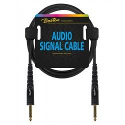 Boston Audio Kabel 150 cm. 2 x jack stereo