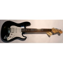 J&D ST Guitar Black