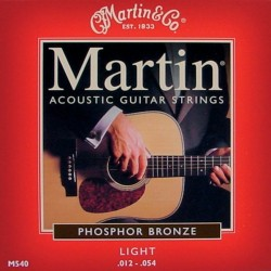 Martin M540 Light 12-54 Phosphor Bronze