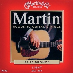 Martin M140 Light 12-54 80/20 Bronze