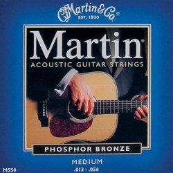 Martin M550 Medium 13-56 Phosphor Bronze