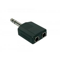Sleipner Adapter stik 2 hun jack / stereo han jack