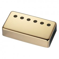 Schaller 6 Hole Humbucker Bridge Pickup Cover i guld