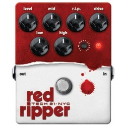 TECH 21. NYC RED RIPPER Bass Fuzz/Distortion v.2