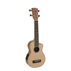 Korala UKS-450CE Sopran ukulele med pickup