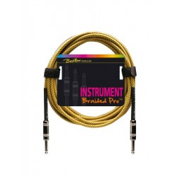 Boston Instrumentkabel i gul flet 3 meter