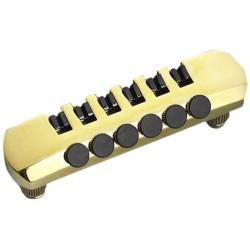 Schaller Guitar stol i guld