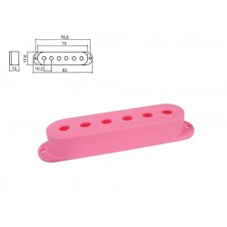 Sleipner Single Coil Pickup Cover i pink