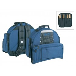 "Boston Lilletrommetaske Deluxe 14""x6.5"" med stickbag"