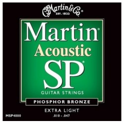 Martin MSP4000 SP Extra Light 10-47 Phosphor Bronze