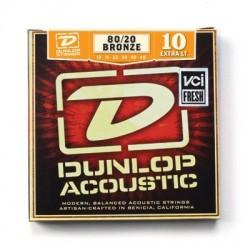 Dunlop Acoustic 80/20 Bronze 10-48