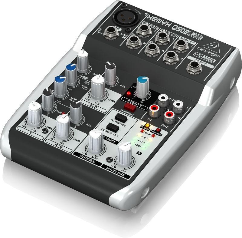 behringer xenyx q 502 usb mixer orkestergraven. Black Bedroom Furniture Sets. Home Design Ideas