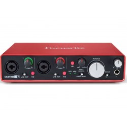 Focusrite Scarlett 2i4 3nd Gen
