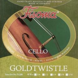 Fisoma Cello strenge 4/4 stål/alu