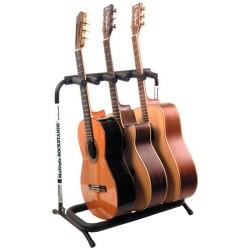 Rockstand Stativ til 3 akustiske guitarer