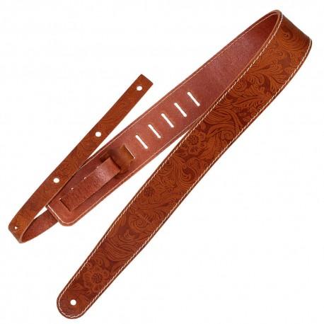 Richter Raw II 1491 Contour Western Tan. Guitar Rem. Læder.