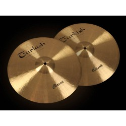 "Turkish Classic Series 15"" hi-hats"