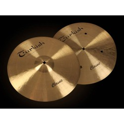 "Turkish Classic Series 13"" Hi-hat Flat Hole"