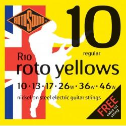 Rotosound R10 Roto yellows