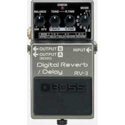 BOSS Digital Reverb/Delay RV-3