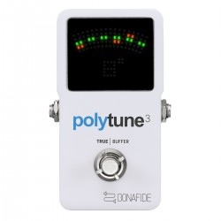 TC Electronic Poly Tune 3 Tuner og Buffer