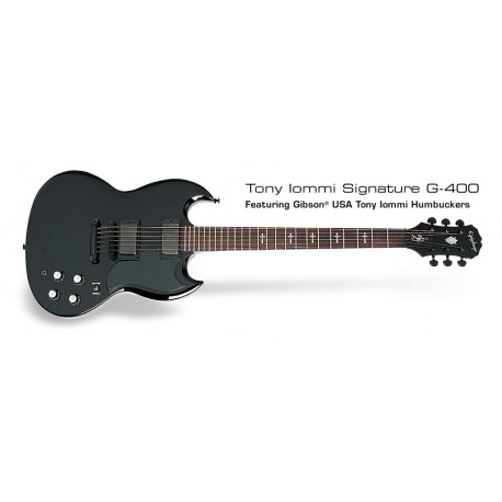 Epiphone SG Custom Tommy Iommi Signature