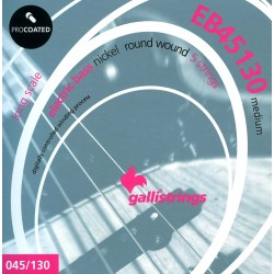 Gallistrings EB45130 electric bass strings medium