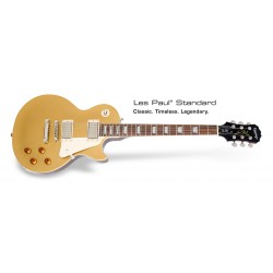 Epiphone Les Paul Standard. Metallic Gold