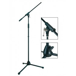 Boston Microphone Stand with Boom, max 165 cm H