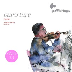 Gallistrings Overture Violin 3/4