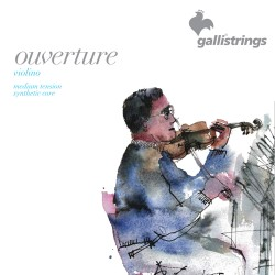 Gallistrings Overture Synth Violin 3/4 Strenge