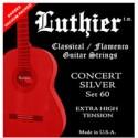 Luthier Concert Silver set 60. Klassisk/Flamenco Strenge