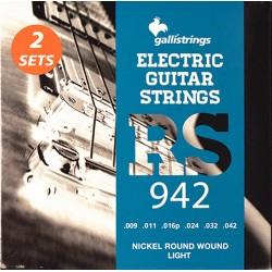 Galli RS942 Electrisk Guitarstrenge 9-42
