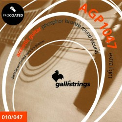 Gallistrings AGP1047 Coated Phosphor Bronze 10-47