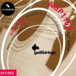Gallistrings AGP1152 Coated Phosphor Bronze 11-52