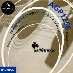 Gallistrings AGP1256 Coated Phosphor Bronze 12-56