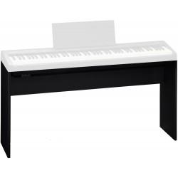 Keyboard/el-piano stativ i sort træ
