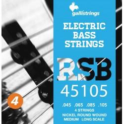 Gallistrings RSB 45105 Elektrisk Bas 4-Strenge Medium