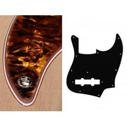 Boston JB-type slagplade i pearl brown