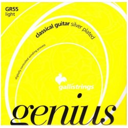 Gallistrings Genius Crystal Light Klassisk
