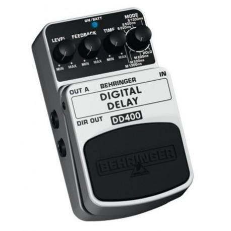Behringer DD400 Digital Delay Pedal